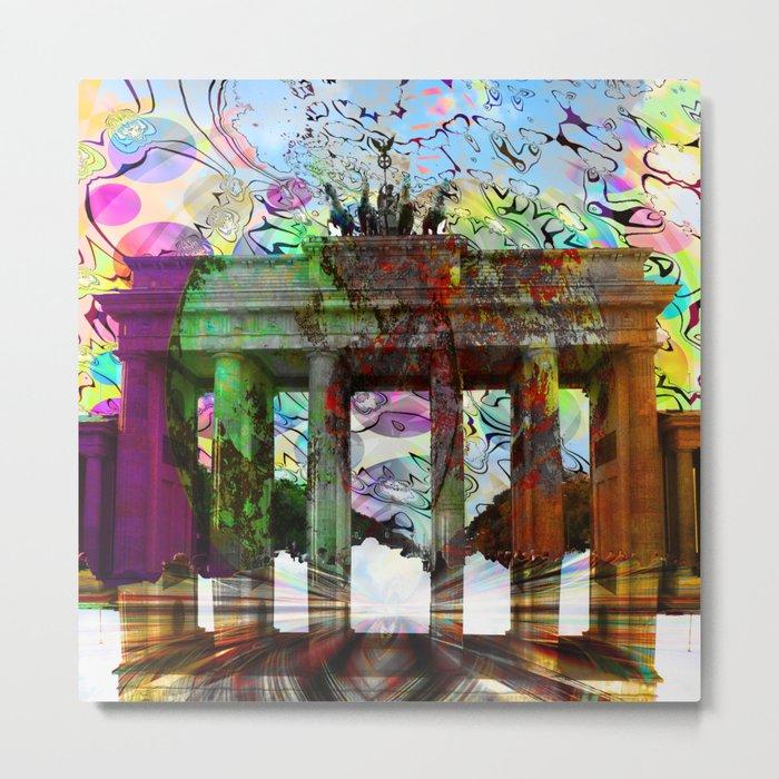 Brandenburger Tor, Berlin, Germany III Metal Print