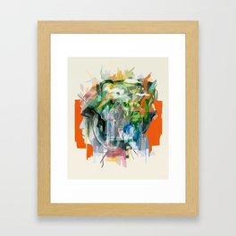 Mental Passageways Framed Art Print