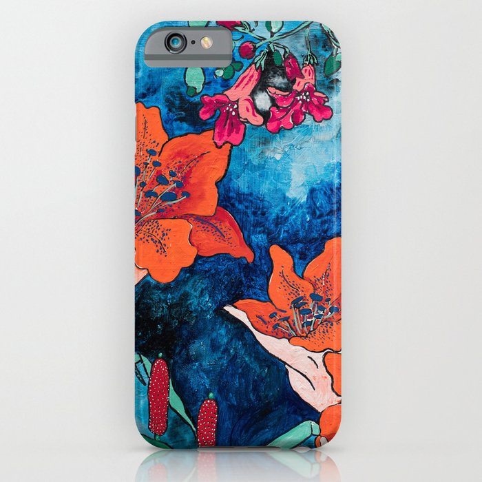 Blooming Night Garden: Twilight iPhone Case
