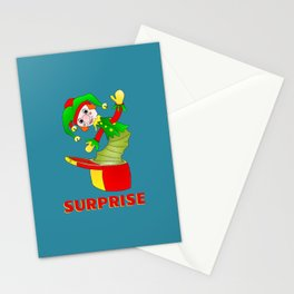 SURPRISE Jack in the Box Stationery Cards