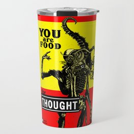 FOOD FOR THOUGHT - GMB CHOMICHUK Travel Mug