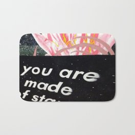 YOU ARE MADE OF STARS Bath Mat