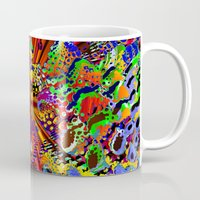 seashell Mugs featuring offshore seashell by donphil