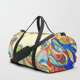 By Your Side  #society6 #decor #buyart Duffle Bag