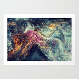 Everybody wants to rule the world Art Print