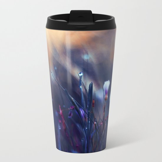 Lonely in Beauty Metal Travel Mug
