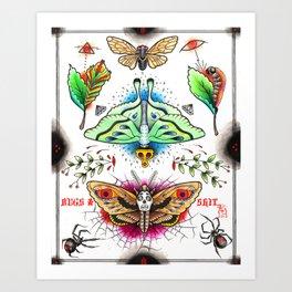 BUGS & SH!T Art Print