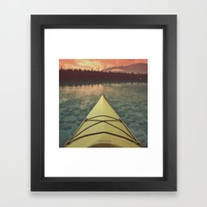 Pyramid Lake Framed Art Print