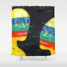 Jet Set Shower Curtain