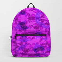 Star blossom pattern Backpack