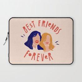 Best Friends Forever Girl Power Portrait Laptop Sleeve