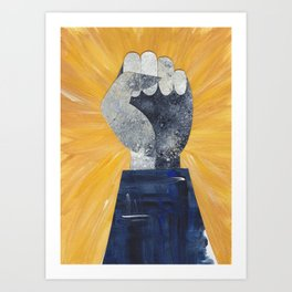 #feelingnuts Art Print