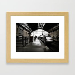 Gare de Marseille-Saint-Charles Framed Art Print