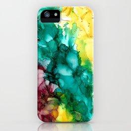 Cheerful Rainbow  iPhone Case