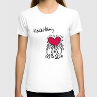 keith haring T-shirts featuring Keith Allen Haring Shirt by cvrcak