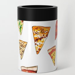 Pizza Pattern Can Cooler