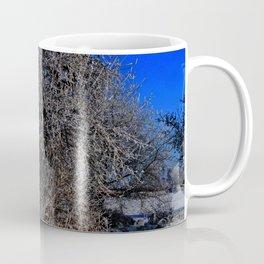 snow and moon Coffee Mug
