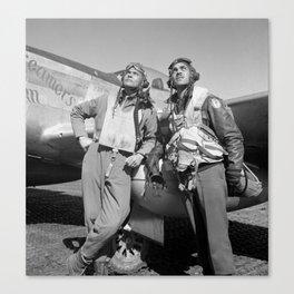 Tuskegee Airmen -- World War II Canvas Print