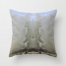 Super Wave Throw Pillow