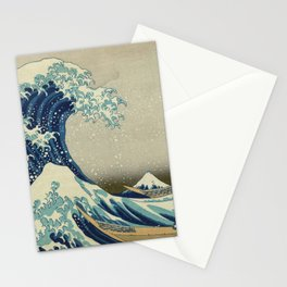 Ukiyo-e, Under the Wave off Kanagawa, Katsushika Hokusai Stationery Cards