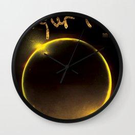 SIGUR ROS TIM HECKER TOUR DATES 2019 SAPI Wall Clock