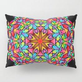Psychedelic Porcupine Mandala Pillow Sham