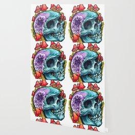 Geode Skull Wallpaper