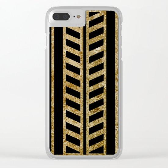 Art deco design II Clear iPhone Case
