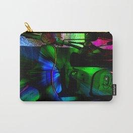 Vespa Neon Blue classico Carry-All Pouch