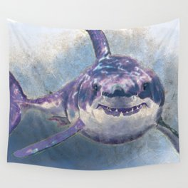 Great White Shark Wall Tapestry