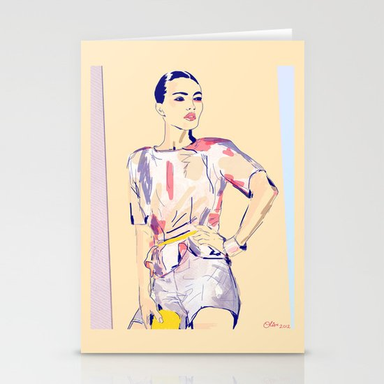 Fierce and Free /// Jessie Stationery Cards