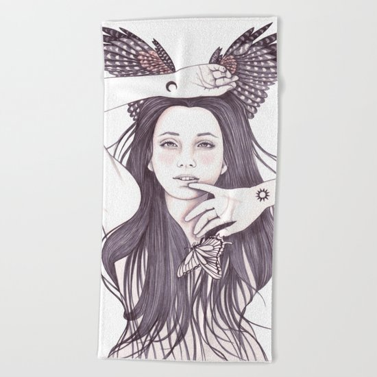 Another Place Beach Towel