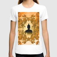 buddhism T-shirts featuring Buddha  by nicky2342