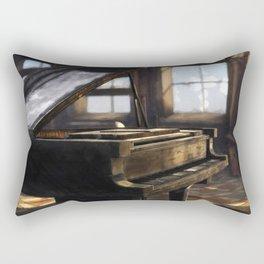 Grand Piano  Rectangular Pillow