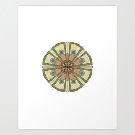 Mandala Project One Art Print