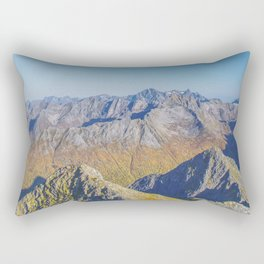 At the summit Rectangular Pillow