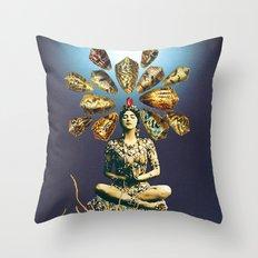 Fourth Jhana Throw Pillow