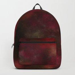 Dark red black batic look Backpack