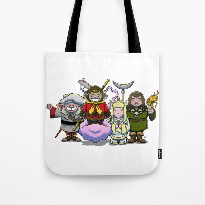 Monkey Magic Crew! Tote Bag