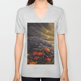 DRIED FLORAL BUNCH Unisex V-Neck