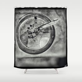 Crumbs Shower Curtain