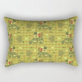 Holiday Road Tripin' Rectangular Pillow
