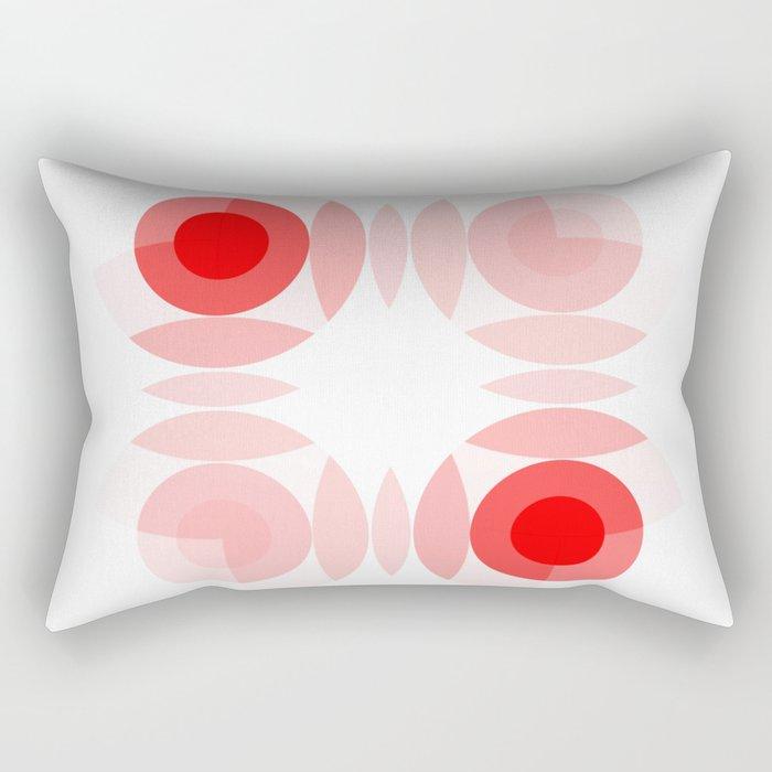 Simply Red Rectangular Pillow