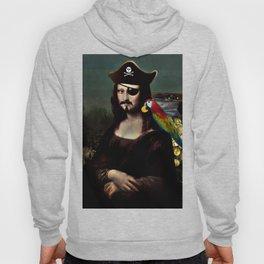 Mona Lisa Pirate Captain Hoody