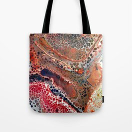 map of cells Tote Bag