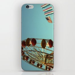 Carnival Ferris Wheel & Flags iPhone Skin