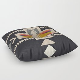 bonfire Floor Pillow