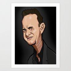 Tom Hanks Art Print