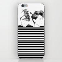 tegan and sara iPhone & iPod Skins featuring Tegan & Sara by MeMRB