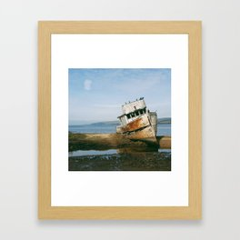 That Point Reyes Shipwreck Framed Art Print